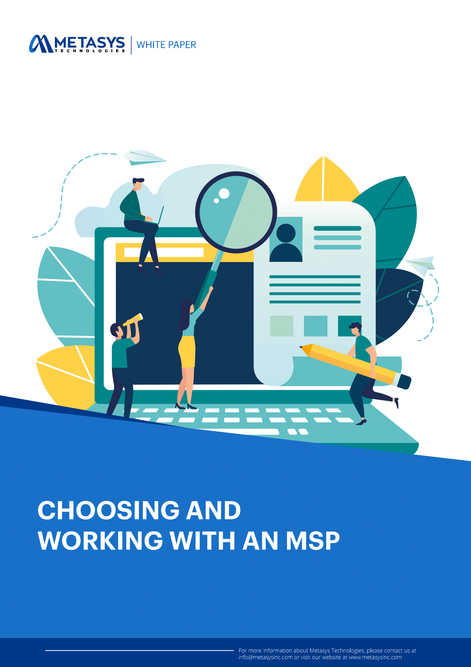 choosing and working with msp-cover
